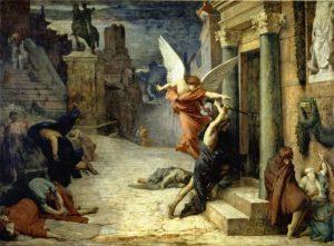 次にエリー・ドローネーの『ローマのペスト』。