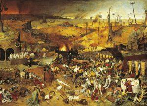 先ずは、ブリューゲルの『死の勝利』。