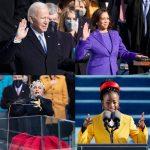バイデン新大統領✴︎女性初カマラ・ハリス副大統領就任式