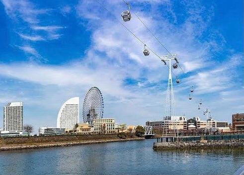 神奈川県☆横浜・みなとみらい☆日本初の都市型ロープウェイが誕生