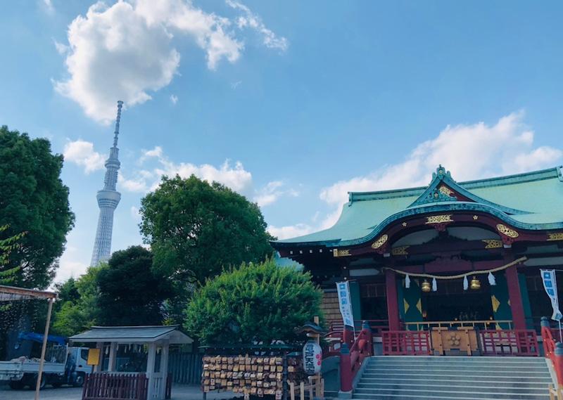 下町の天神さま『亀戸天神社』へ