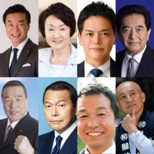 【横浜市長選告示】真夏の戦いがスタート